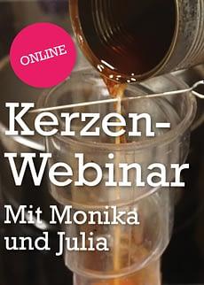 Kerzen Workshop Webinara