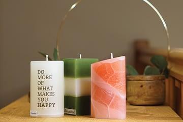 Fotoshooting Kerzen
